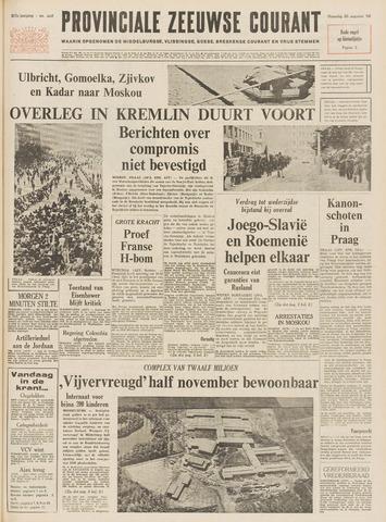 Provinciale Zeeuwse Courant 1968-08-26
