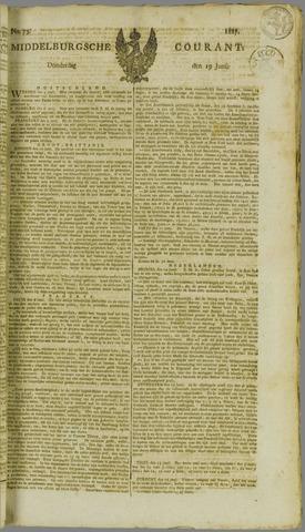 Middelburgsche Courant 1817-06-19