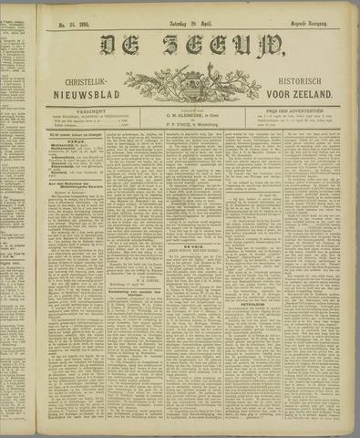 De Zeeuw. Christelijk-historisch nieuwsblad voor Zeeland 1895-04-20