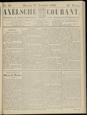 Axelsche Courant 1923-11-27