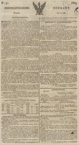 Middelburgsche Courant 1827-07-31
