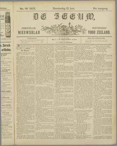 De Zeeuw. Christelijk-historisch nieuwsblad voor Zeeland 1902-06-12