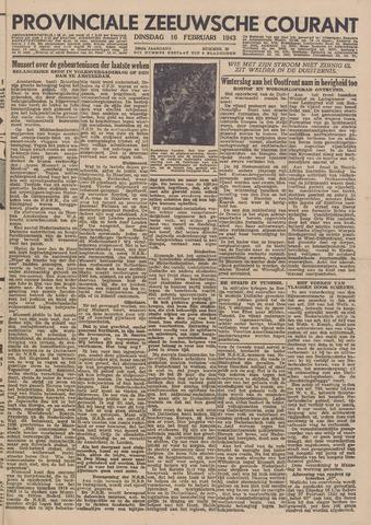 Provinciale Zeeuwse Courant 1943-02-16