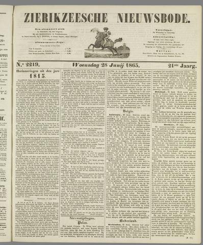 Zierikzeesche Nieuwsbode 1865-06-28