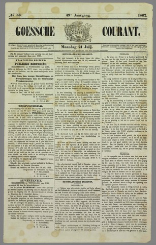 Goessche Courant 1862-07-21