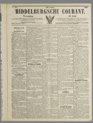 Middelburgsche Courant 1905-07-26