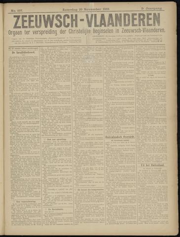 Luctor et Emergo. Antirevolutionair nieuws- en advertentieblad voor Zeeland / Zeeuwsch-Vlaanderen. Orgaan ter verspreiding van de christelijke beginselen in Zeeuwsch-Vlaanderen 1919-11-29