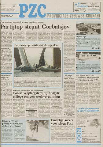 Provinciale Zeeuwse Courant 1991-07-27
