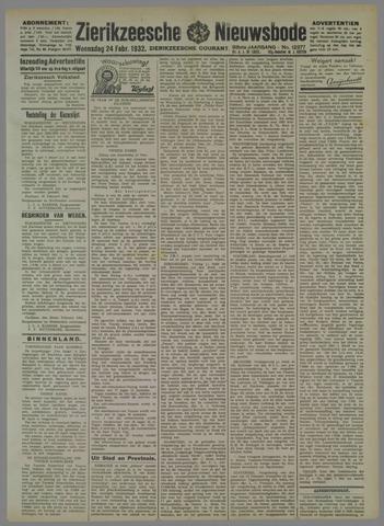 Zierikzeesche Nieuwsbode 1932-02-24