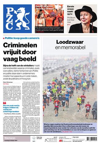 Provinciale Zeeuwse Courant 2017-10-09