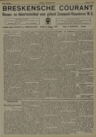 Breskensche Courant 1938-11-01