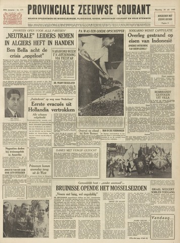 Provinciale Zeeuwse Courant 1962-07-30