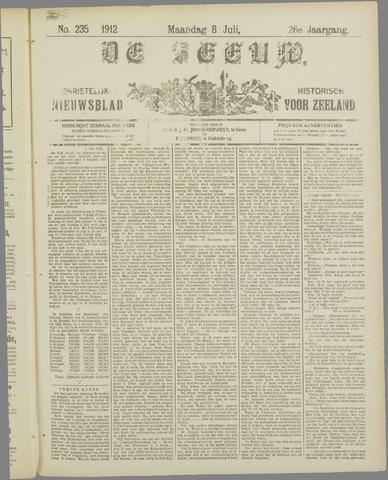 De Zeeuw. Christelijk-historisch nieuwsblad voor Zeeland 1912-07-08