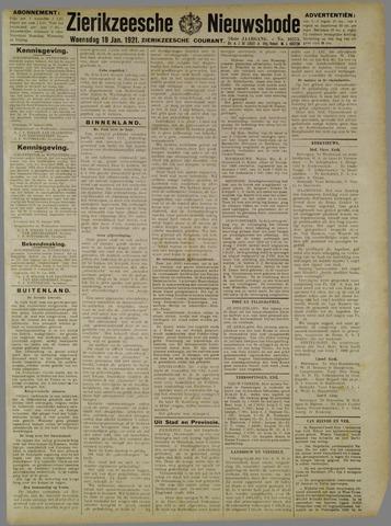 Zierikzeesche Nieuwsbode 1921-01-19