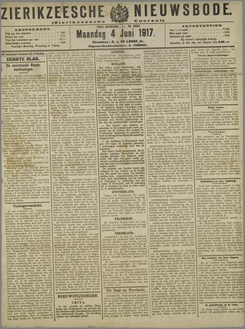 Zierikzeesche Nieuwsbode 1917-06-04