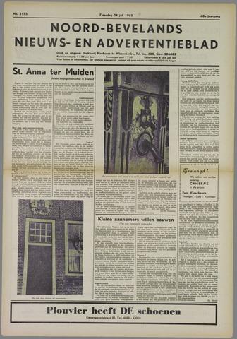 Noord-Bevelands Nieuws- en advertentieblad 1965-07-24