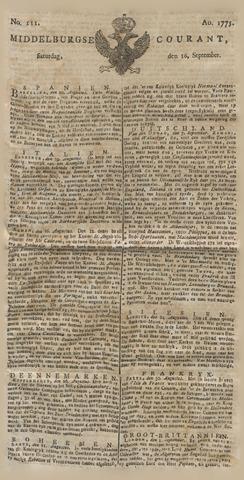 Middelburgsche Courant 1775-09-16