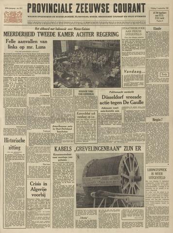 Provinciale Zeeuwse Courant 1962-09-07