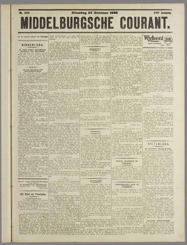 Middelburgsche Courant 1925-10-27