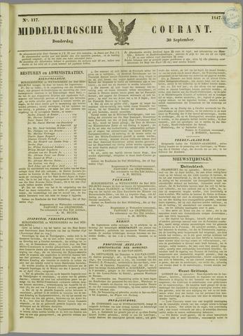 Middelburgsche Courant 1847-09-30