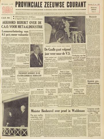 Provinciale Zeeuwse Courant 1963-11-27