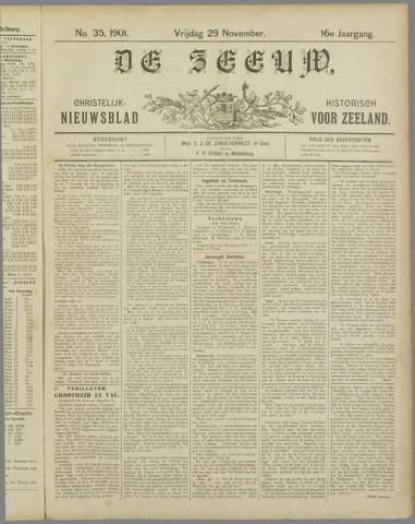 De Zeeuw. Christelijk-historisch nieuwsblad voor Zeeland 1901-11-29