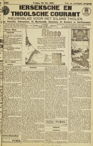 Ierseksche en Thoolsche Courant 1927-05-20