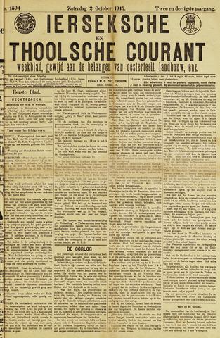 Ierseksche en Thoolsche Courant 1915-10-02