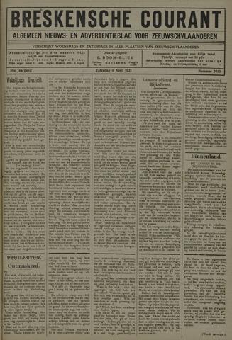 Breskensche Courant 1921-04-09
