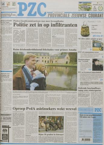 Provinciale Zeeuwse Courant 2004-02-05