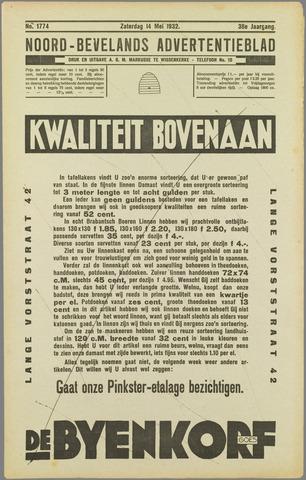 Noord-Bevelands Nieuws- en advertentieblad 1932-05-14