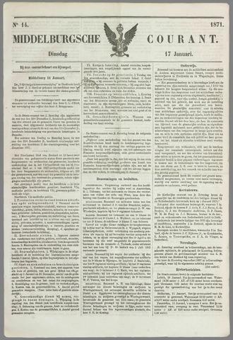 Middelburgsche Courant 1871-01-17