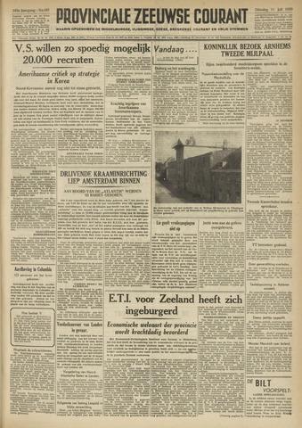 Provinciale Zeeuwse Courant 1950-07-11