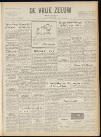 de Vrije Zeeuw 1957-10-25