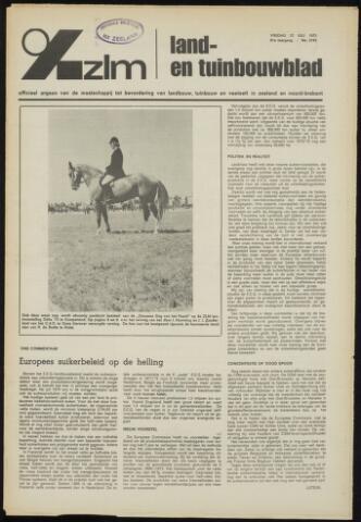 Zeeuwsch landbouwblad ... ZLM land- en tuinbouwblad 1973-07-27