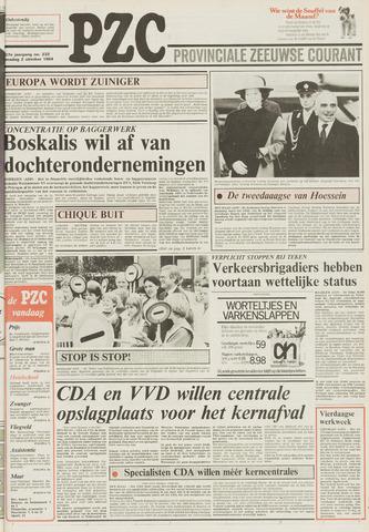 Provinciale Zeeuwse Courant 1984-10-02