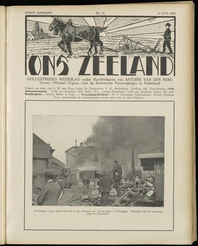 Ons Zeeland / Zeeuwsche editie 1929-06-29