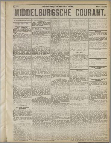 Middelburgsche Courant 1922-01-19