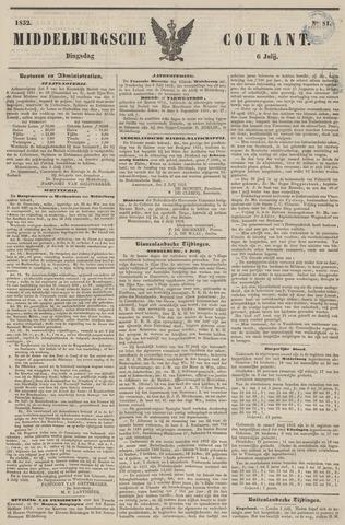 Middelburgsche Courant 1852-07-06