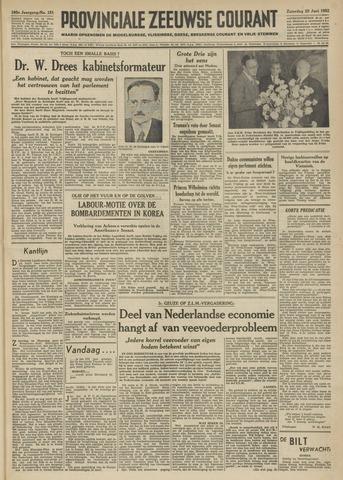 Provinciale Zeeuwse Courant 1952-06-28