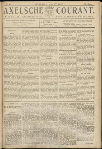 Axelsche Courant 1937-03-09