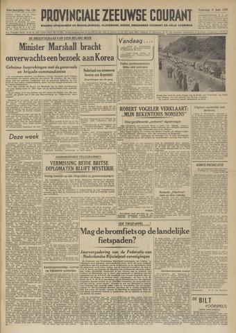 Provinciale Zeeuwse Courant 1951-06-09