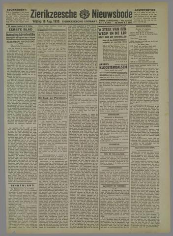 Zierikzeesche Nieuwsbode 1933-07-18