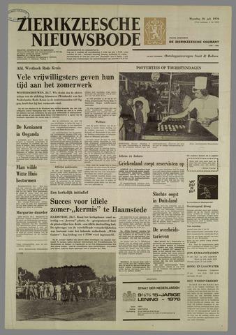 Zierikzeesche Nieuwsbode 1976-07-26
