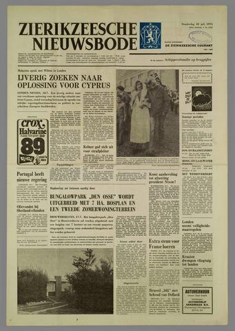 Zierikzeesche Nieuwsbode 1974-07-18