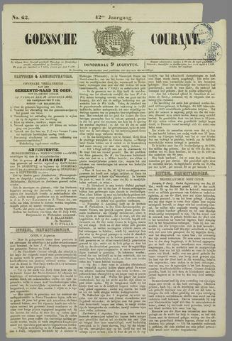 Goessche Courant 1855-08-09
