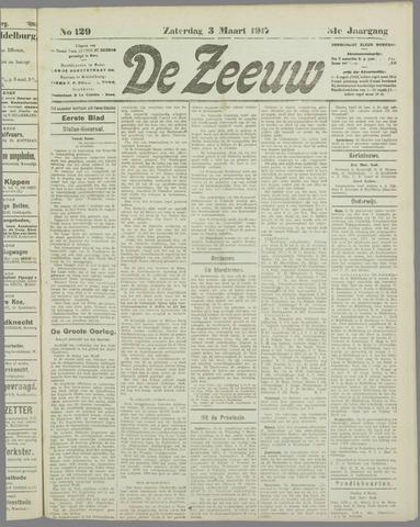 De Zeeuw. Christelijk-historisch nieuwsblad voor Zeeland 1917-03-03