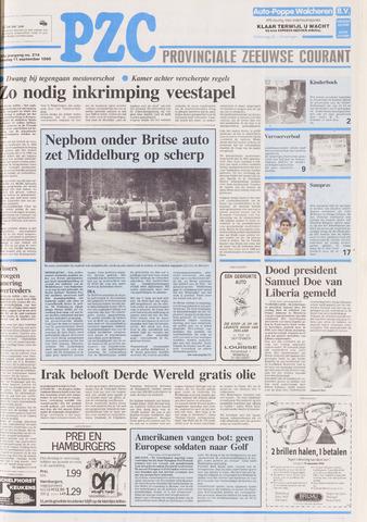 Provinciale Zeeuwse Courant 1990-09-11