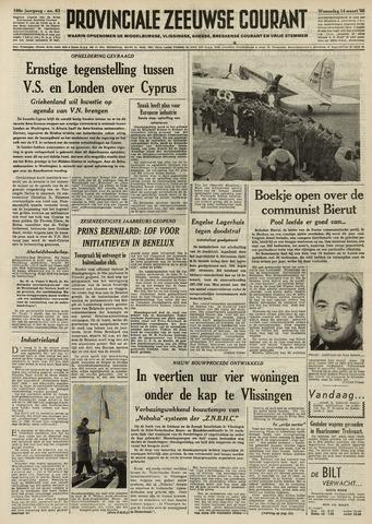 Provinciale Zeeuwse Courant 1956-03-14