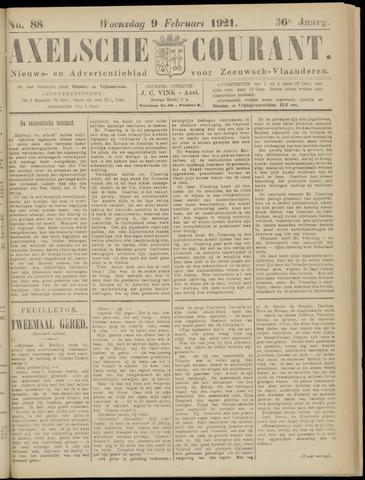 Axelsche Courant 1921-02-09